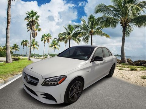 Pre-Owned 2019 Mercedes-Benz C-Class C 43 AMG® 4MATIC® 4D Sedan