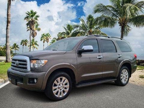 Pre-Owned 2010 Toyota Sequoia Platinum RWD 4D Sport Utility