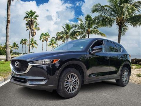 Certified Pre-Owned 2017 Mazda CX-5 Sport FWD 4D Sport Utility