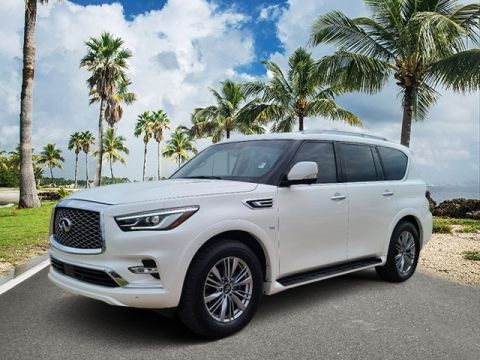 Pre-Owned 2018 INFINITI QX80 Base RWD 4D Sport Utility